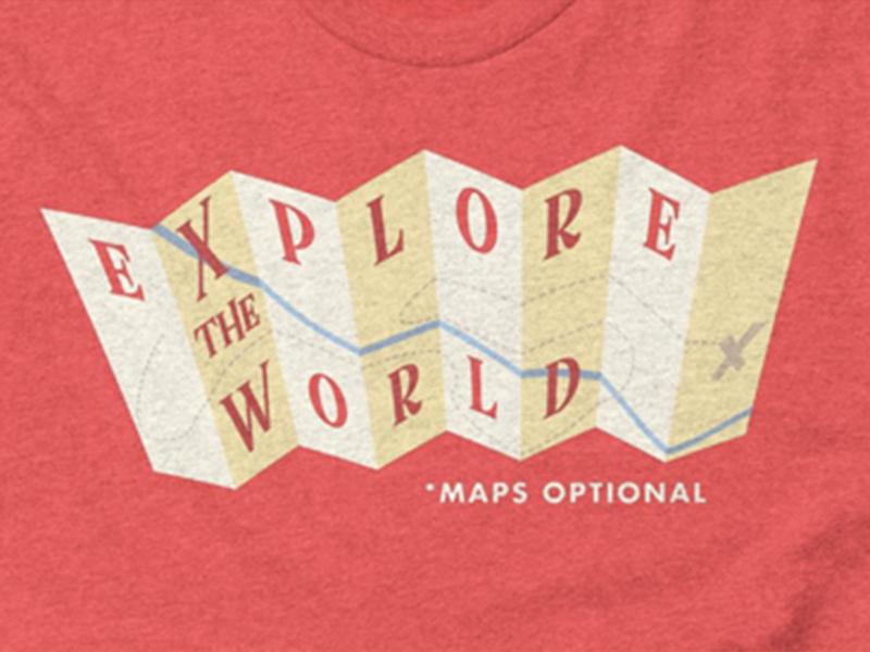 Explore the world dribbble