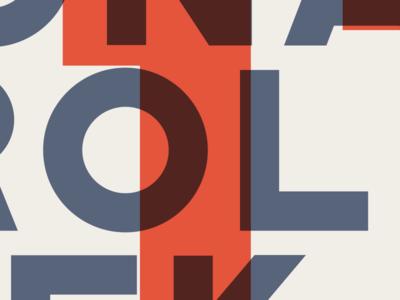 Poster Preview screenprint design poster