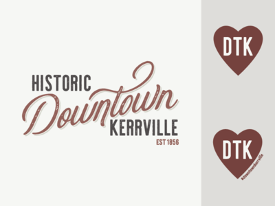 Historic Downtown Kerrville logo
