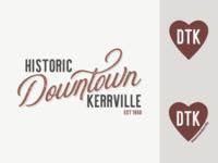 Downtown Kerrville Rebrand