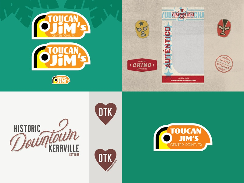 Alara Creative 2018 Top 4 typography vector logo vintage illustration design branding