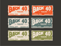 Back 40 Trailers - Color Comps