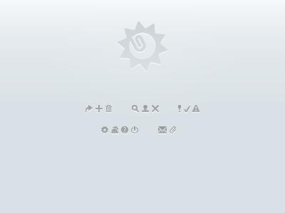 UI Icons ui icons tiny arrow plus copy trash delete search user alert check error settings cloud info logoff email attachment