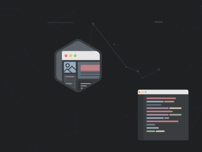 Flat UI & Code Icon flat ui icons colors sublime text osx hexagon triangles