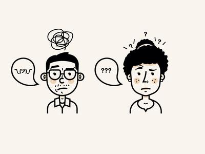 Confused personas