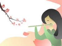 Chinese musical instruments - Dizi