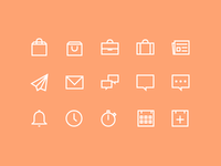 Lush Icons Preview