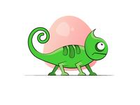 Chameleons illustration