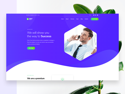 Agency WordPress Theme pagebuilder headerbuilder agency slider deeptheme design header wordpress drawing website ux ui illustration webnus wordpress templates wordpress themes