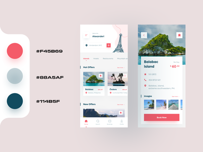 Offers App UI Design Concept home tickets profile savings booking app discounts travelapp offers uidesignpatterns uidesigner uidesign ios app mobile ui app ux ui modern mobile app design clean ui