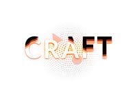 Craft in Web Hosting web icon design logo