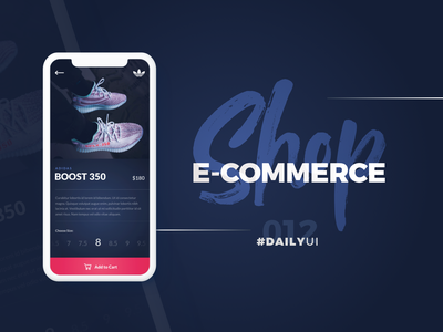 #DailyUI - 012 - Ecommerceshop adidas originals shoes ecommerce shop ecommerce design ecommerce ecommerce app appdesign ui design ui blue colors typography app design design dailyui 100daychallenge