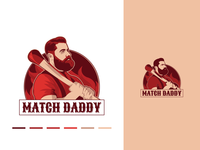 Match daddy - Experimental Logo