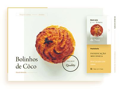 Bolinhos de Côco homo faber ui sweets portuguese