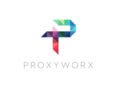 Proxyworx minimal styleguide brand color logo
