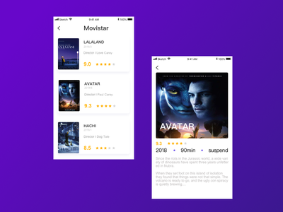 Movie Pages