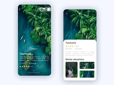 Travel App-2 app design ui