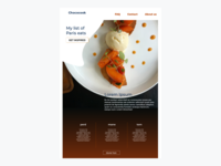 Landing Page Chococook