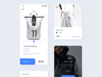 Nike Interface Redesign