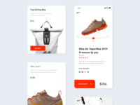 Nike Interface Redesign Day2