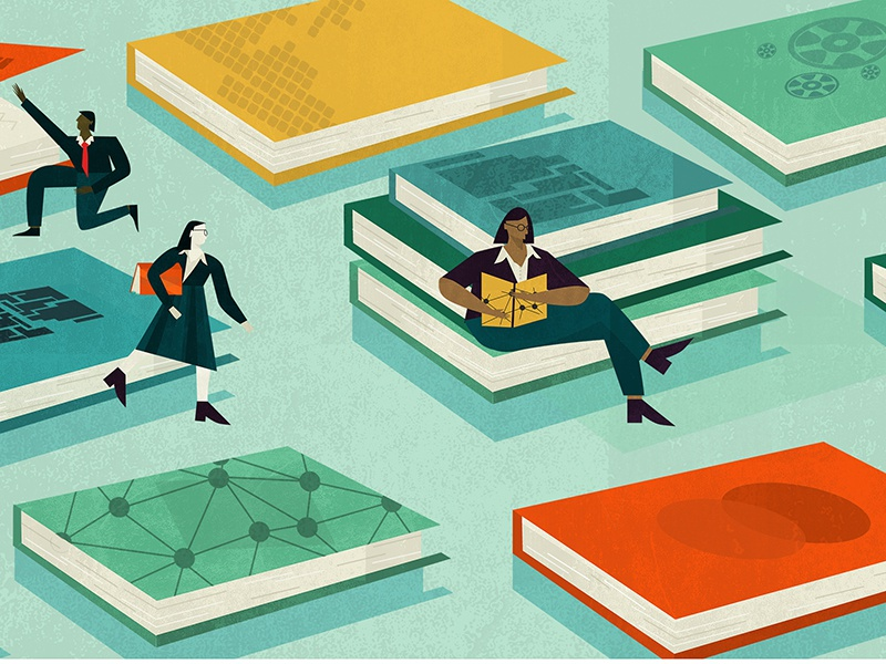 Fujitsu Best Business Books by Sophie Melissa - Dribbble