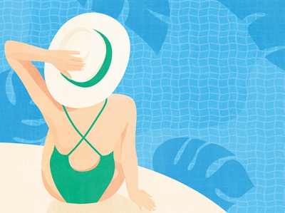 Summer Pool Side
