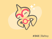 Baltoy #343 Pokemon