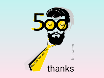 500 followers 🙌