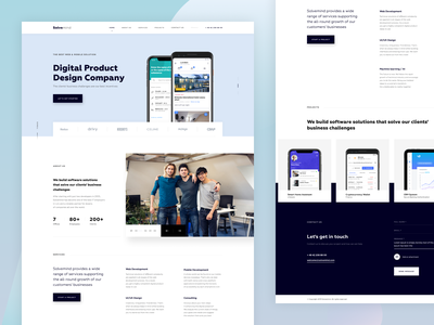Product Design Company Website corporate branding website design branding coporate digital agency agency website design studio homepage corporate design web development projects services bussiness software development software design product design website company digital