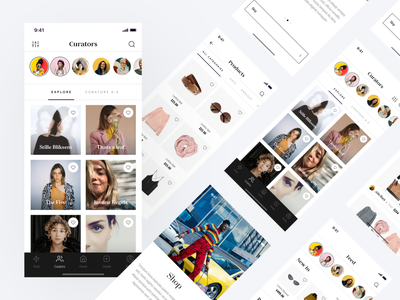 Fashion Magazine App 2021 trend android app ios app delivery ecommerce shopping app store product page fashion app shop business market catalog page style brand clothes shop
