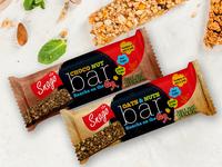 Snago Choco Nut Bar Packaging Design