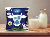 Gala milk packaging