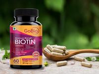 Biotin packaging design