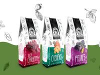 wonderland dry fruits packaging design