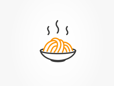 World Pasta Day food pasta logo design