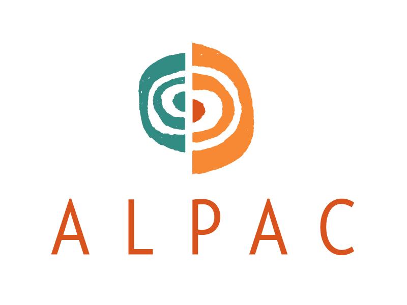 ALPAC southwest identity texture logos