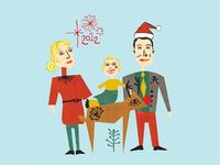 2012 Holiday Illustration