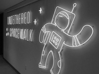 Untethered Space Walk
