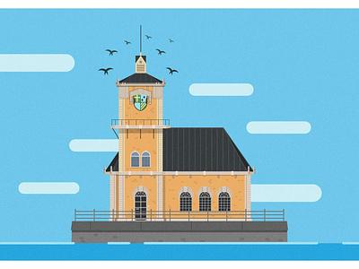 Anno 1800: Harbour Building anno 1800 anno building landscape illustrator art vectorart vector illustration illustrator adobe