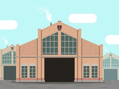 Anno 1800: Storage Hall hall storage storage hall anno 1800 anno building vectorart vector illustrator art illustration illustrator adobe