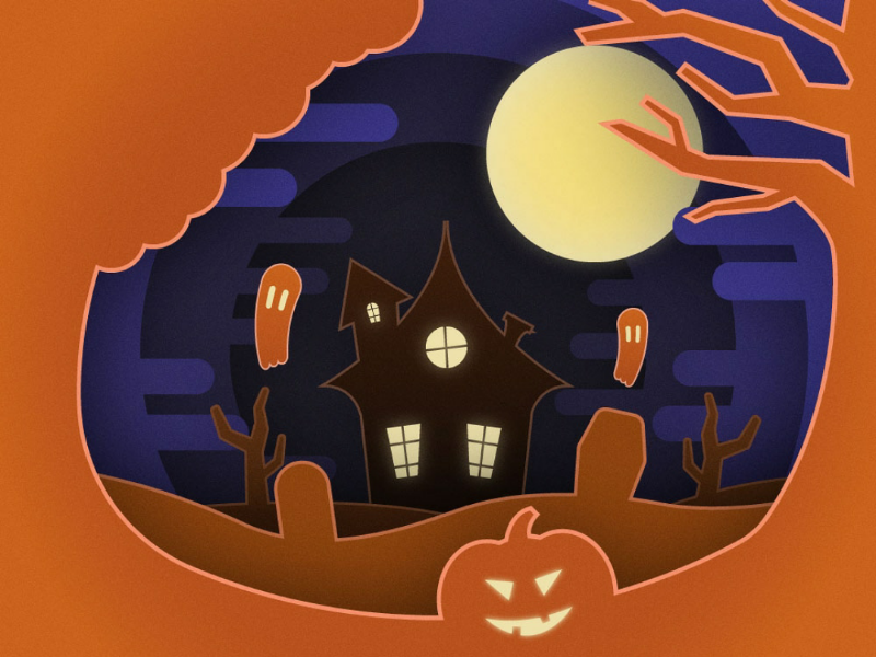 Halloween is coming! halloween adobe illustrator