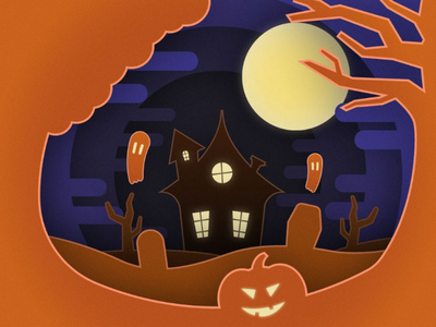 Halloween is coming! halloween adobe illustrator