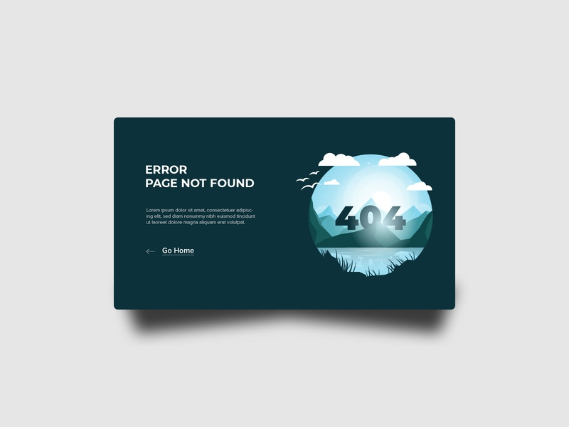 #DailyUI Day 8 - 404 Page web ui dailyui
