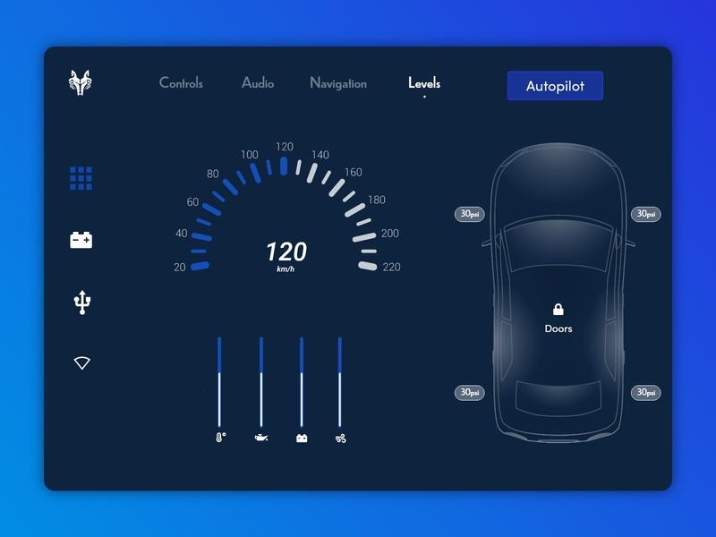 #DailyUI Day 34 - Car Interface design web ux dailyui ui