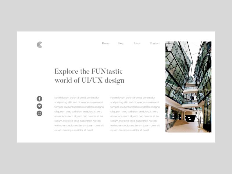 #DailyUI Day 35 - Blog Post blog post design web ux dailyui ui