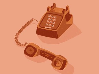 One call away dribble colors palette procreate 2020 digital illustration illustration