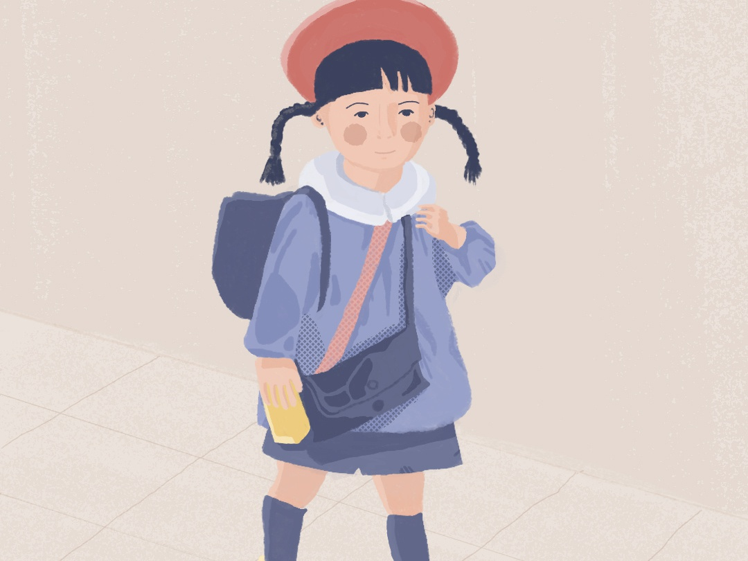 Japanese kid photoshop japan palette wacom digitalart illustration