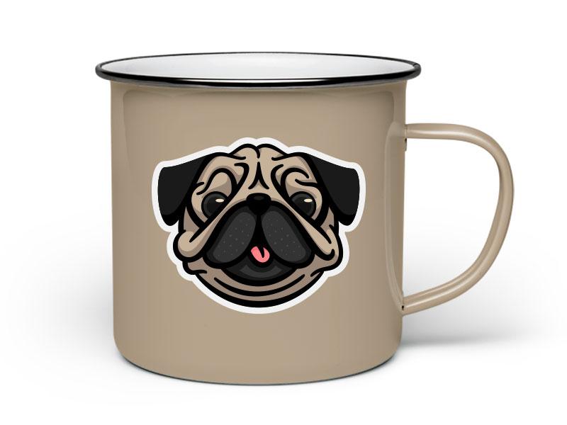 Pug Mug for fun rebound mug pug