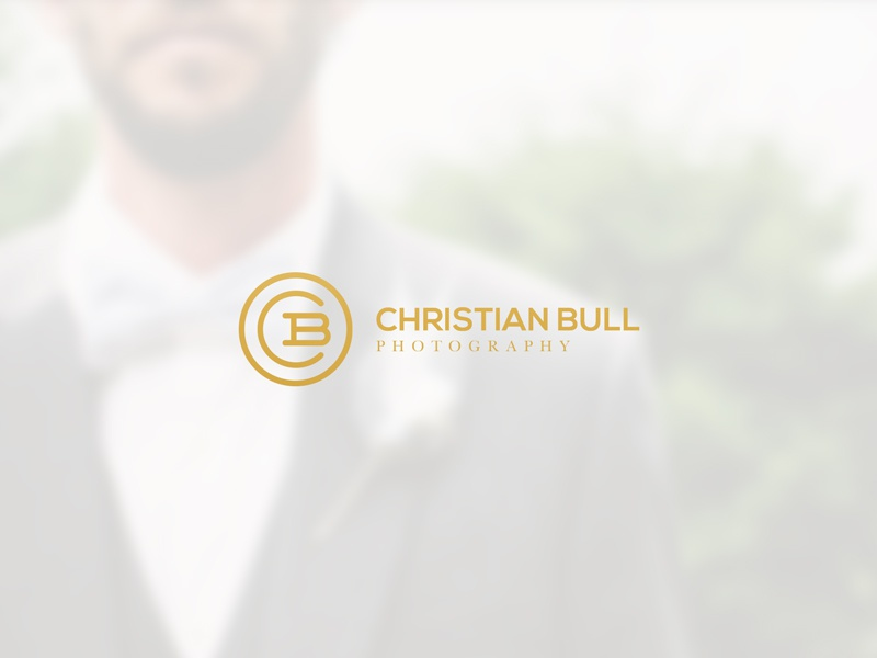 Photography Logo Christian Bull photography icon b c clean modern classy