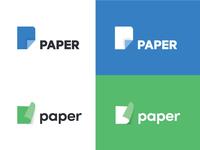 Paper Logo Concept